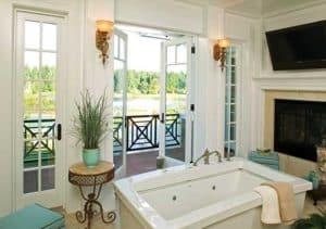 bathroom patio door and window by milgard 300x211